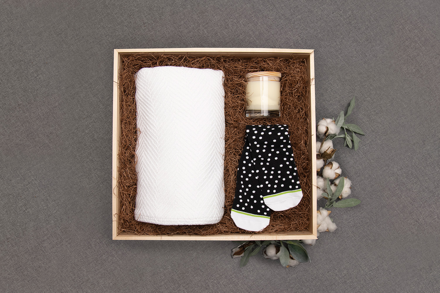 Luxury branded gift box