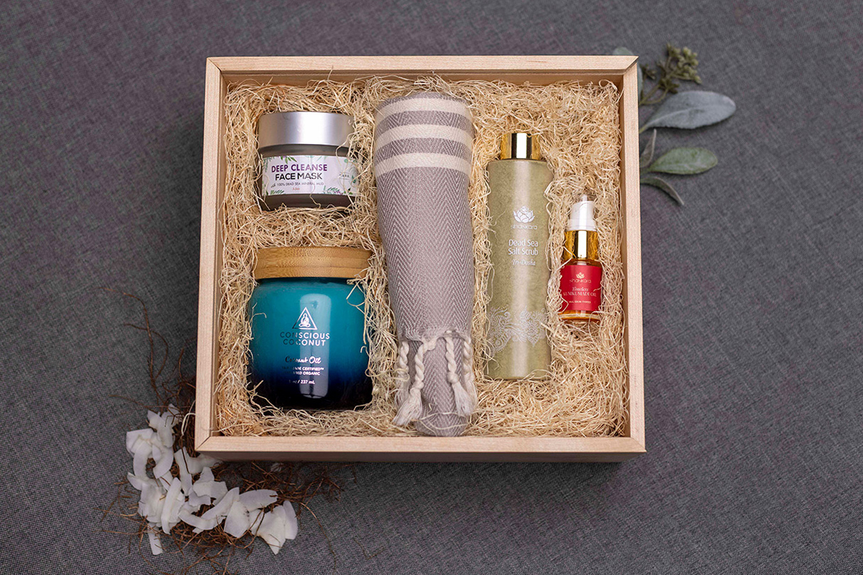 Luxury Branded Corporate Gift - Curated Gift Box