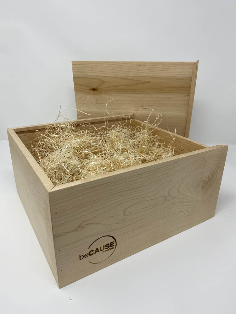 Branded Wood Box