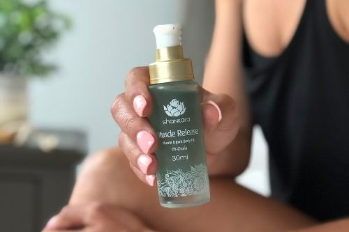 Muscle Release Oil. Client Gift. Luxury Corporate Gift